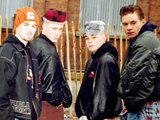East 17 l-r; Terry Coldwell, John Hendy, Brian Harvey, Tony Mortimer