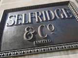 Selfridges sign