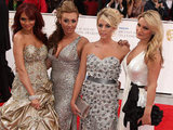 The Only Way Is Essex cast on the BAFTA red carpet