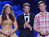 Lauren Alaina, Ryan Seacrest and Scotty McCreery