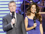 Dancing With The Stars presenters Tom Bergeron and Brooke Burke