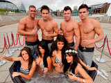 &#39;Geordie Shore&#39; stars in a hot tub: Group