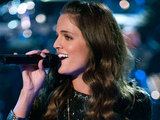 Kelsey Rey performing on 'The Voice'