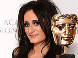 BAFTA 2011: Lauren Socha with her Best Supporting Actress Award