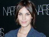 Alexa Chung attends the Nars Cosmetics launch of Makeup your mind: Express Yourself