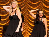 Brittany and Santana perform in the Regionals
