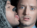 Jason Gann and Elijah in 'Wilfred'