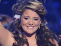 American Idol's Lauren Alaina thanks Justin Bieber for following her on Twitter.