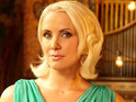 Steps star Claire Richards poses naked and claims that she is trying to embrace her fuller figure.