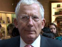 Nick Hewer, laughing at posh people and boardroom showdowns.