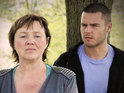 Emmerdale's Pauline Quirke says that Hazel is beginning to panic about Aaron's upcoming murder trial.