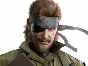 Naked Snake from &#39;Metal Gear Solid: Peace Walker&#39;