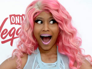 Nicki Minaj arrives at the Billboard Awards 2011