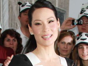 Lucy Liu attends the New York premiere of &#39;Kung Fu Panda II&#39;
