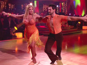 Kirstie Alley in the 'Dancing With The Stars' final