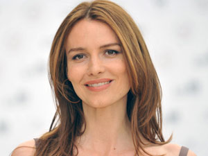 Actress Saffron Burrows
