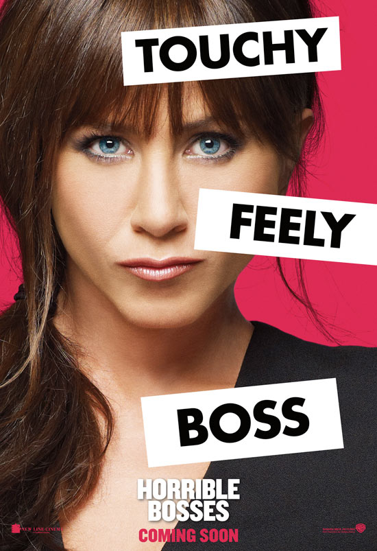 Exclusive Horrible Bosses character posters