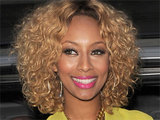 Keri Hilson leaving her London hotel