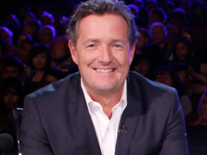 Piers Morgan on the America's Got Talent judging panel