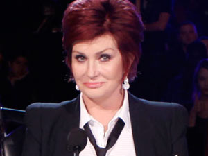 Sharon Osbourne on the America's Got Talent judging panel