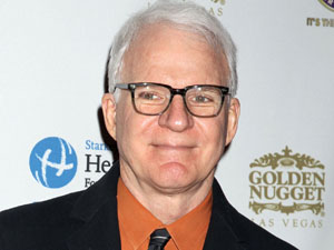 Actor and musician Steve Martin