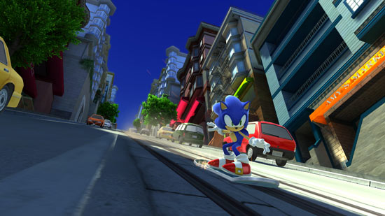 Sonic Generations Gaming Gallery