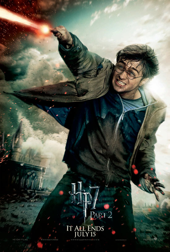 Harry Potter and the Deathly Hallows: Part 2 - Action Posters