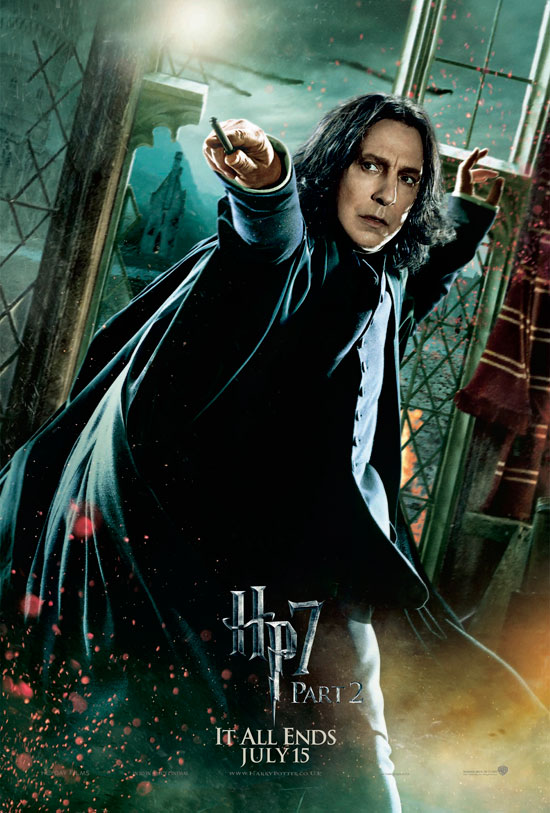 Severus Snape (Alan Rickman)