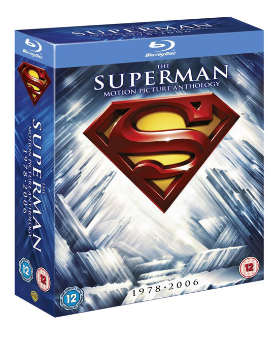Superman Blu-ray packshot