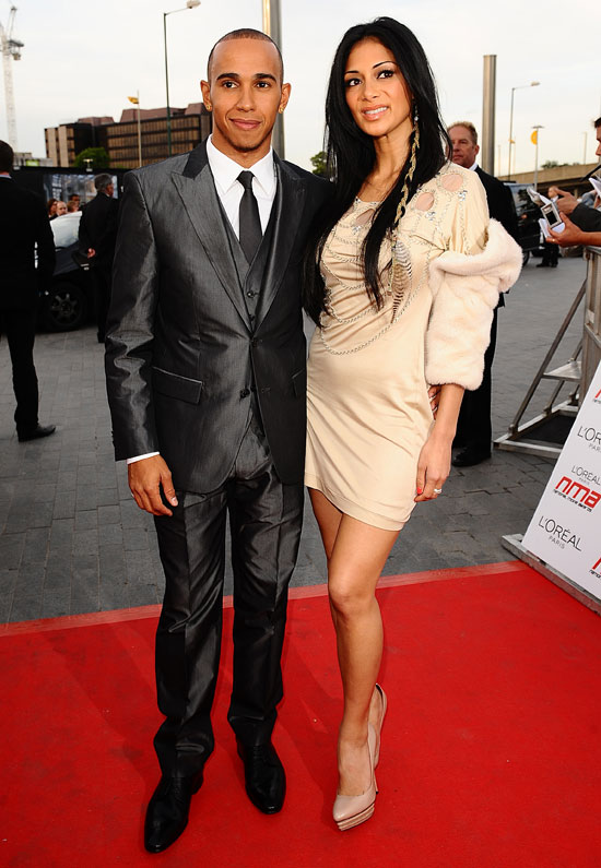 Lewis and Nicole in 2011