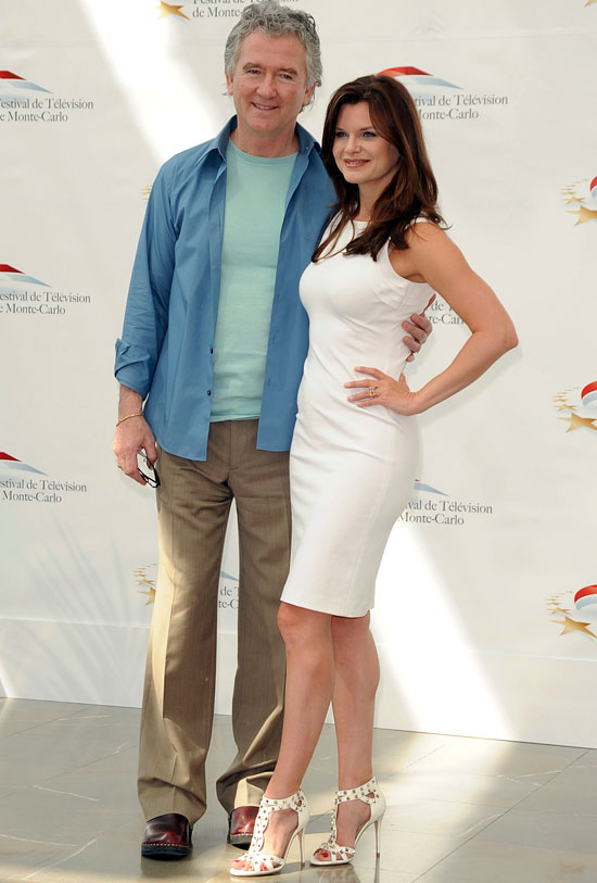 Patrick Duffy and Heather Tom