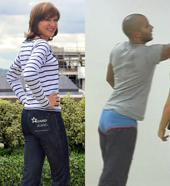 2010: Fiona Bruce and Ricky Whittle 