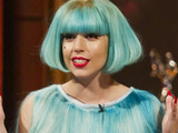Lady GaGa on The Paul O'Grady Show on ITV1.
