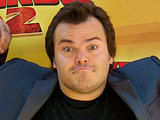 Jack Black attends a photocall in Madrid for 'Kung Fu Panda 2'