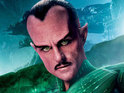 Mark Strong reveals that he enjoyed portraying the red-faced alien Thaal Sinestro in Green Lantern.