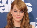 Actress Emma Stone says that she has a crush on Mad Men star Christina Hendricks.