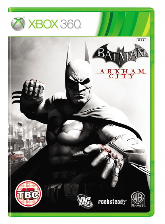 Batman: Arkham City cover