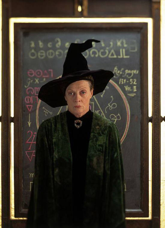 Maggie Smith as Minerva McGonagall