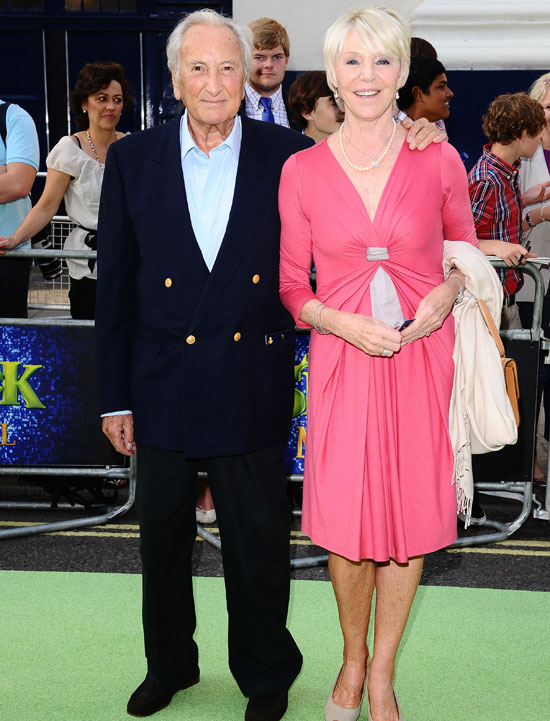 Michael Winner and Geraldine Edwards
