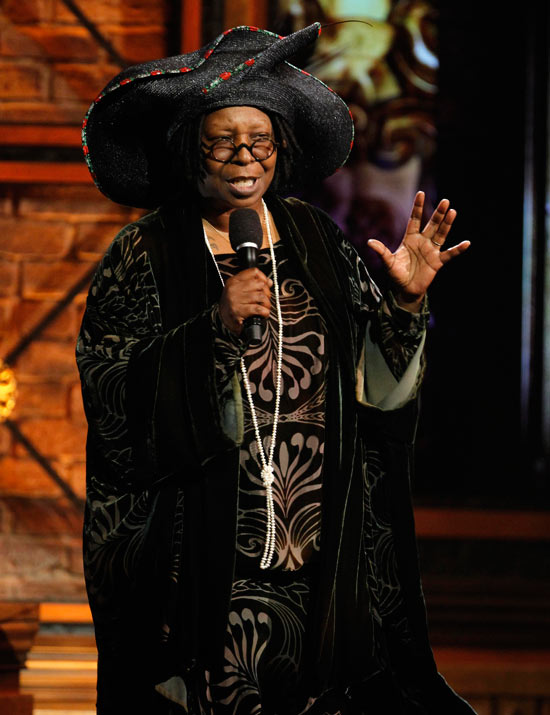 Whoopi Goldberg introduces Sister Act: The Musical