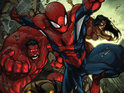 Avenging Spider-Man is announced by Zeb Wells and Joe Madureira.