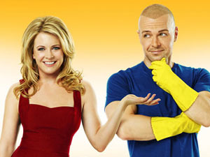 Melissa Joan Hart and Joey Lawrence in &#39;Melissa & Joey&#39;