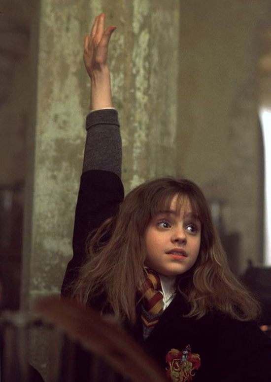 Hermione in 'Philosopher's Stone'