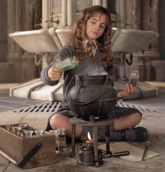 Hermione in 'Chamber Of Secrets'