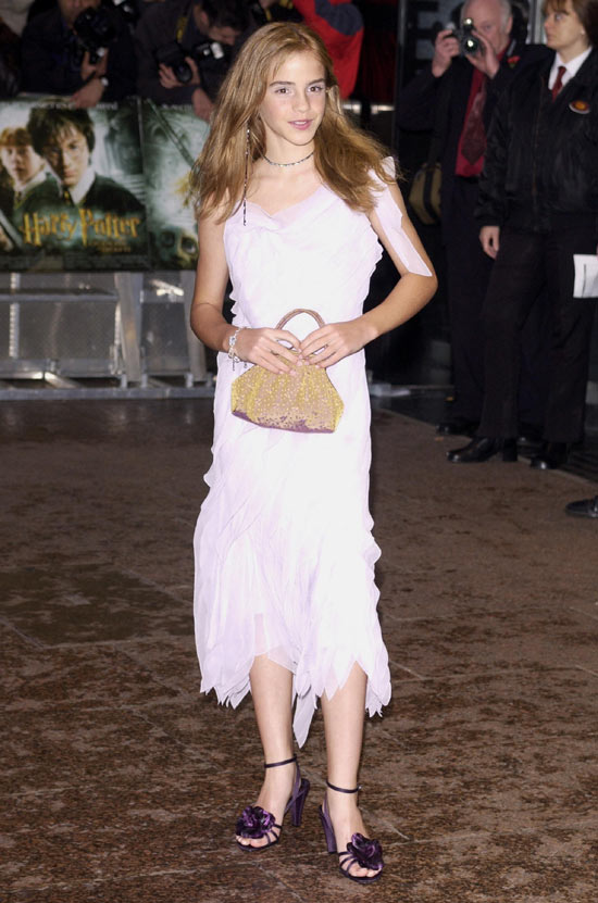 Emma Watson at 'Chamber Of Secrets' premiere
