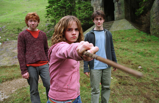 Ron, Hermione and Harry