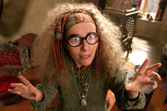 Emma Thompson as Sybill Trelawney