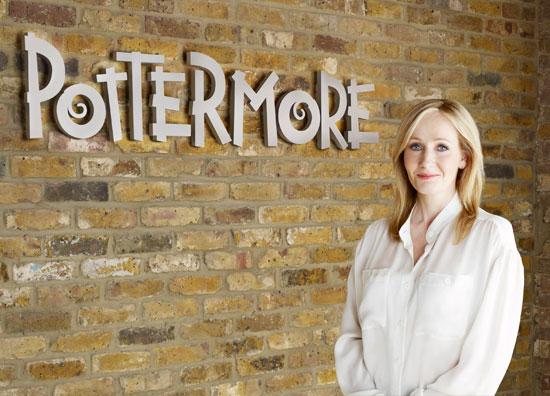 Pottermore: JK Rowling