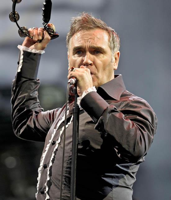 Morrissey, Glastonbury 2011
