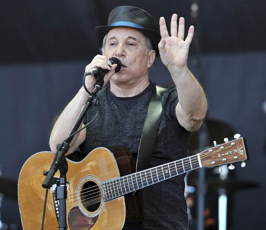 Glastonbury 2011, Paul Simon